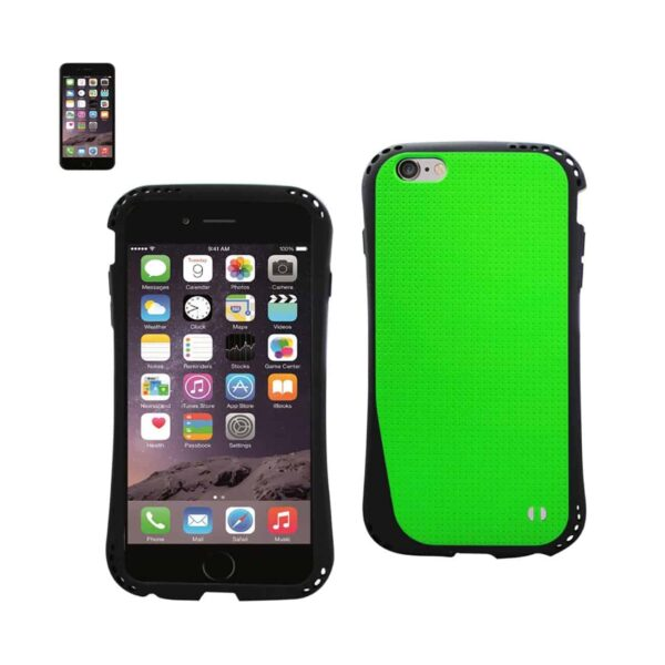 IPHONE 6 DROPPROOF AIR CUSHION CASE WITH CHAIN HOLE IN GREEN