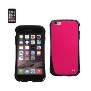 IPHONE 6 DROPPROOF AIR CUSHION CASE WITH CHAIN HOLE IN HOT PINK