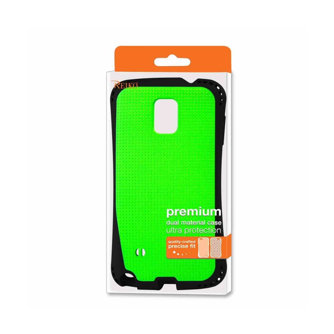 SAMSUNG GALAXY NOTE 4 DROPPROOF AIR CUSHION CASE WITH CHAIN HOLE IN GREEN