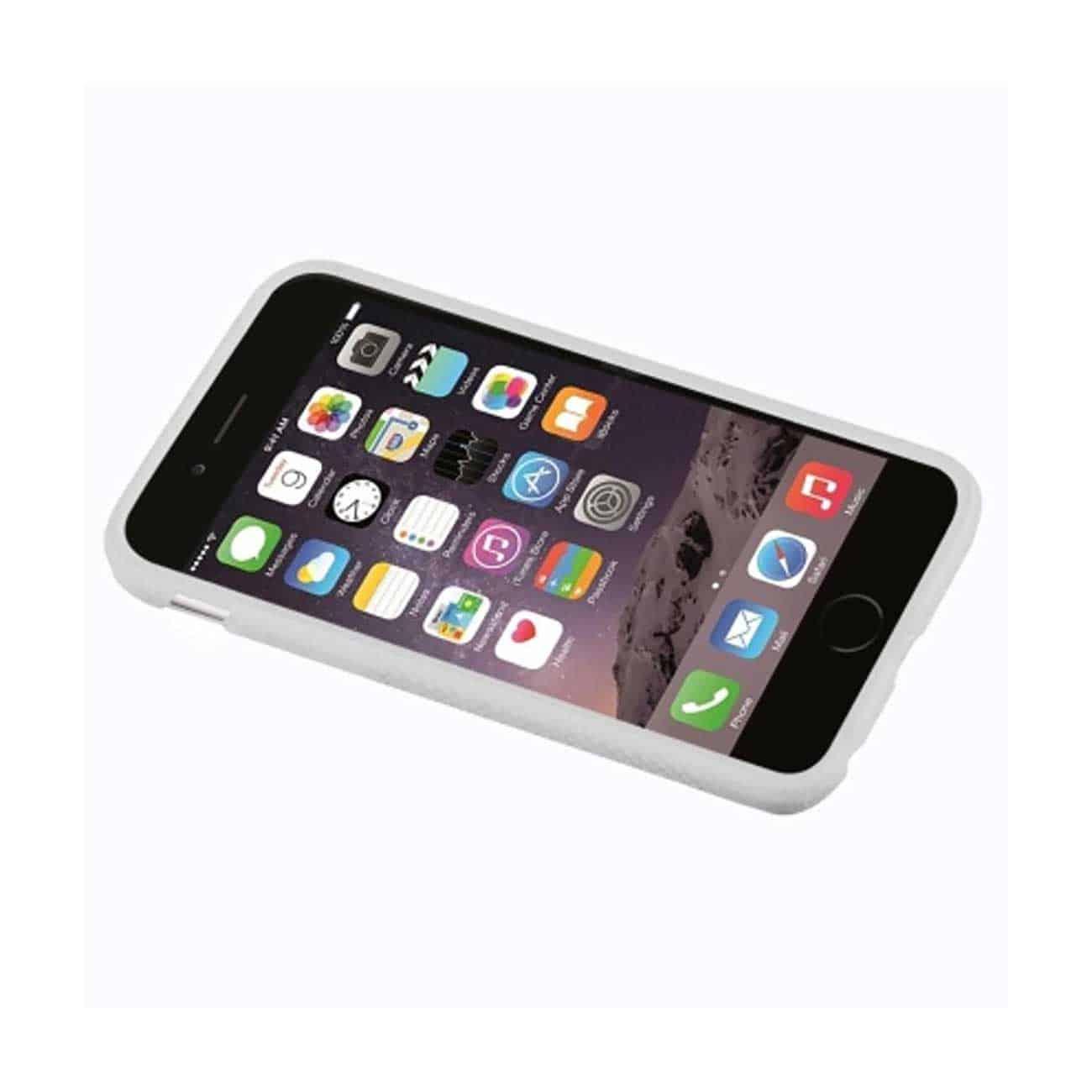 IPHONE 6 TPU RIDGES GEL CASE IN WHITE