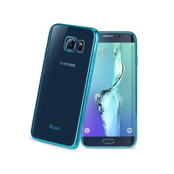 SAMSUNG GALAXY S6 EDGE PLUS FRAME CASE IN SHINY BLUE