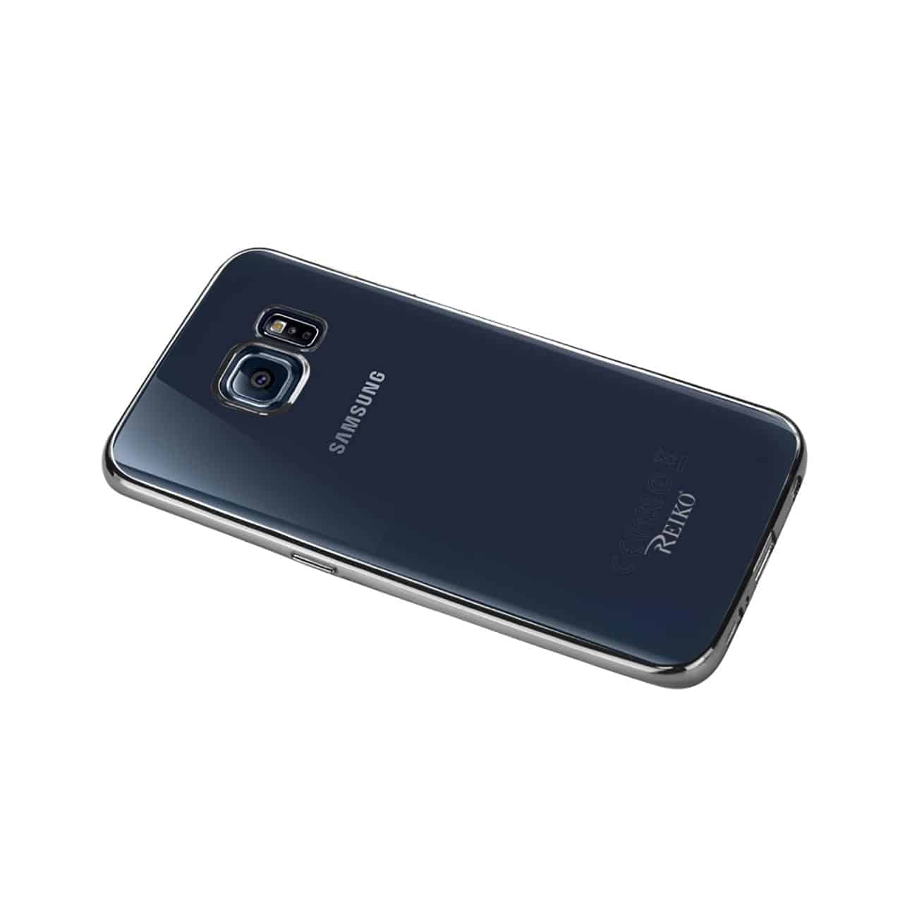 SAMSUNG GALAXY S6 EDGE PLUS FRAME CASE IN SHINY SILVER