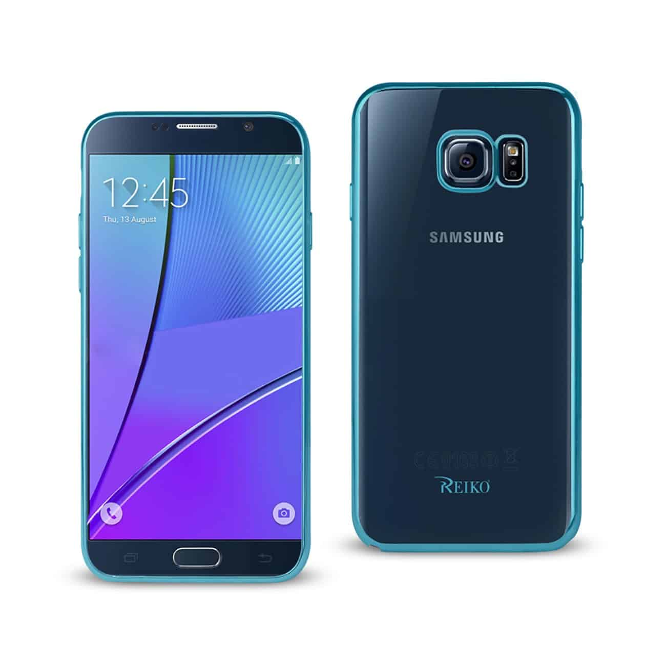 SAMSUNG GALAXY NOTE 5 FRAME CASE IN SHINY BLUE