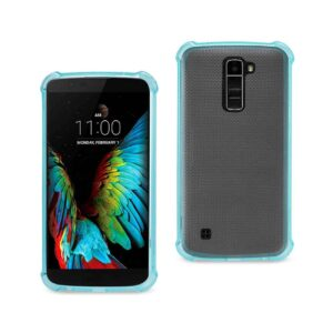LG K10 MIRROR EFFECT CASE WITH AIR CUSHION PROTECTION IN NAVY