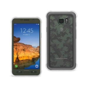 SAMSUNG GALAXY S7 ACTIVE CLEAR BUMPER CASE WITH AIR CUSHION PROTECTION IN CLEAR