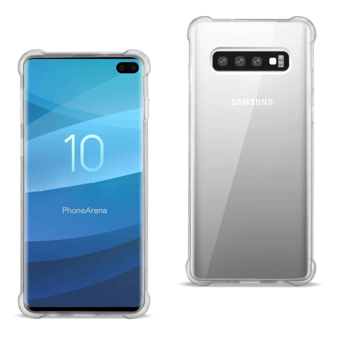 SAMSUNG GALAXY S10 Plus Clear Bumper Case With Air Cushion Protection