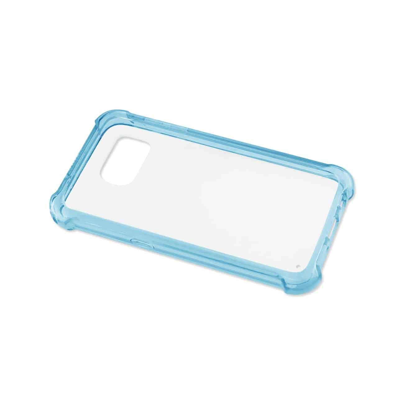SAMSUNG GALAXY S7 CLEAR BUMPER CASE WITH AIR CUSHION PROTECTION IN CLEAR NAVY