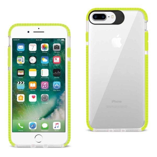 iPhone 8 Plus/ 7 Plus Soft Transparent TPU Case In Clear Green