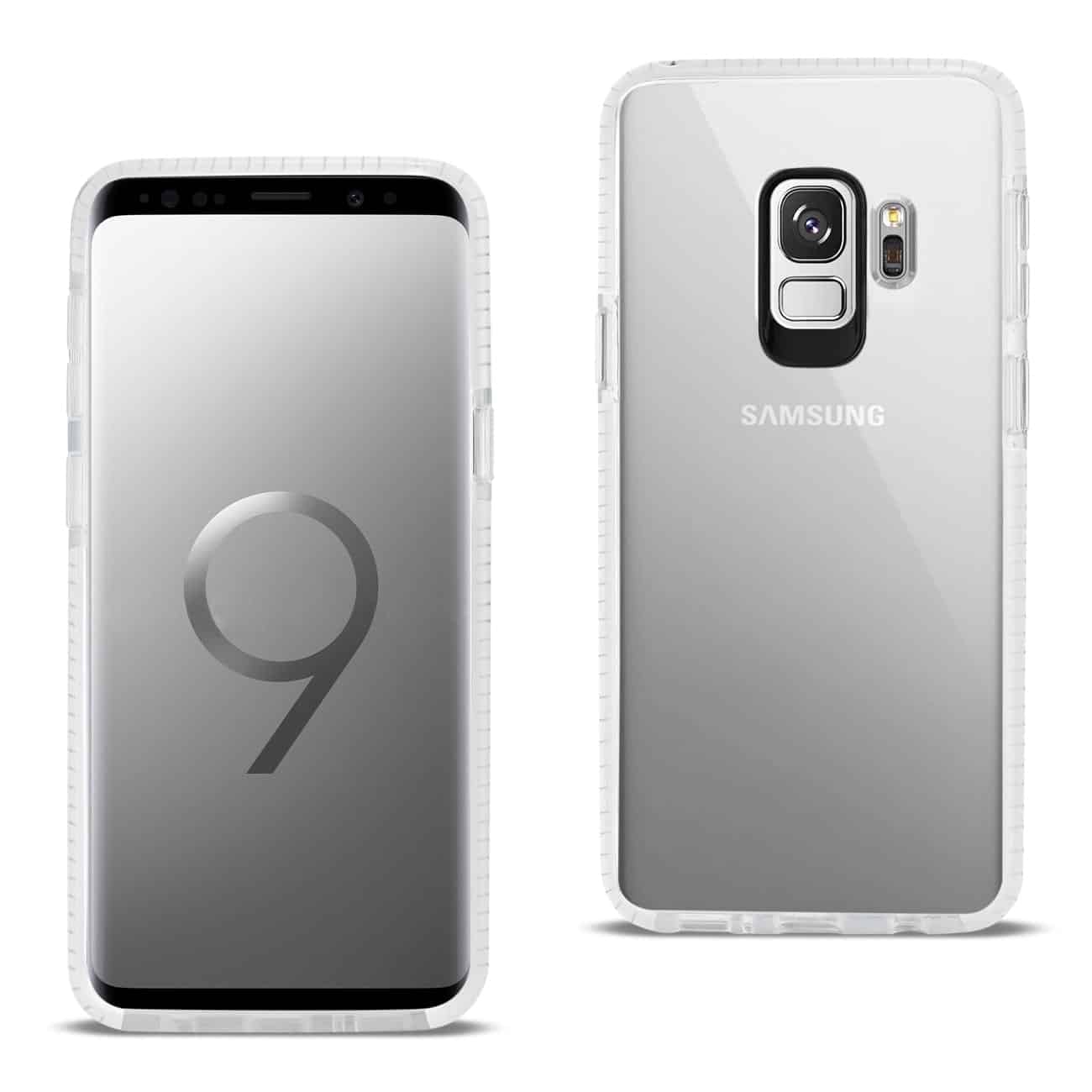 Samsung Galaxy S9 Soft Transparent TPU Case In Clear White