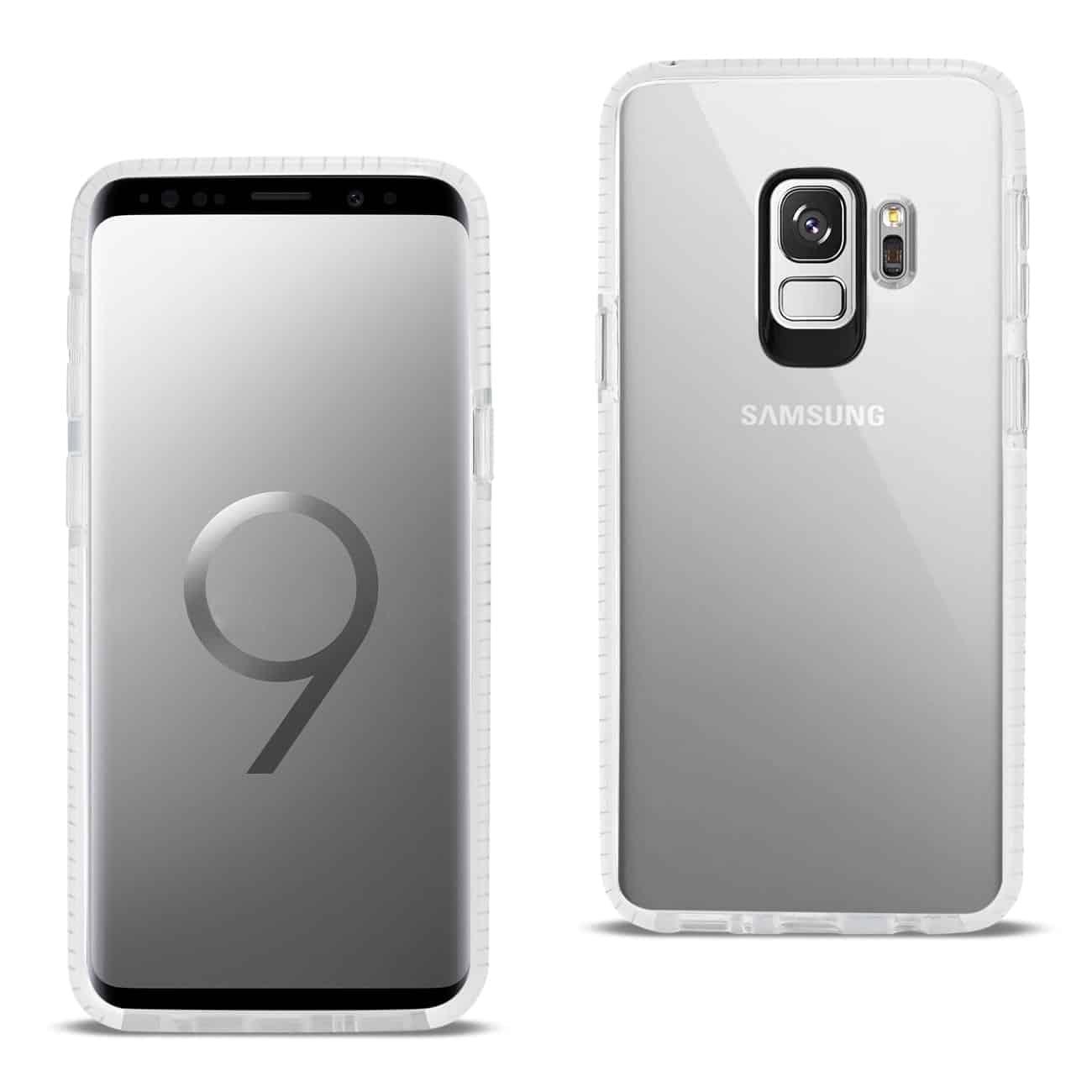 Samsung Galaxy S9 Soft Transparent TPU Case In Clear White
