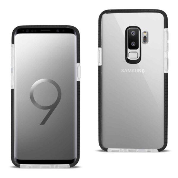 Samsung Galaxy S9 Plus Soft Transparent TPU Case In Clear Black
