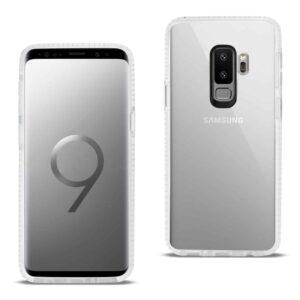 Samsung Galaxy S9 Plus Soft Transparent TPU Case In Clear White