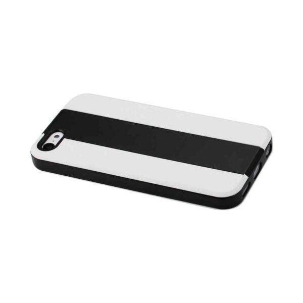 IPHONE 5C STRIPED CASE IN BLACK WHITE