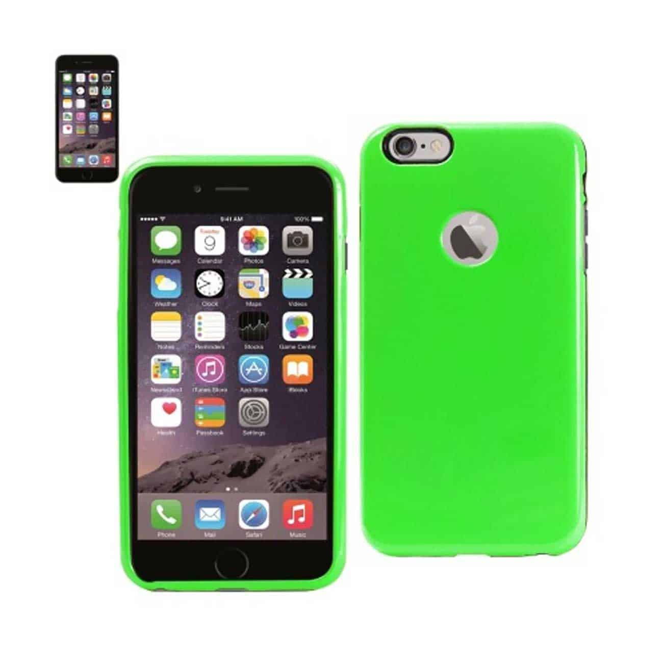 IPHONE 6 PLUS SLIM ARMOR CANDY SHIELD CASE IN GREEN