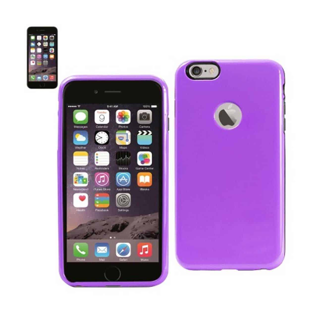 IPHONE 6 PLUS SLIM ARMOR CANDY SHIELD CASE IN PURPLE