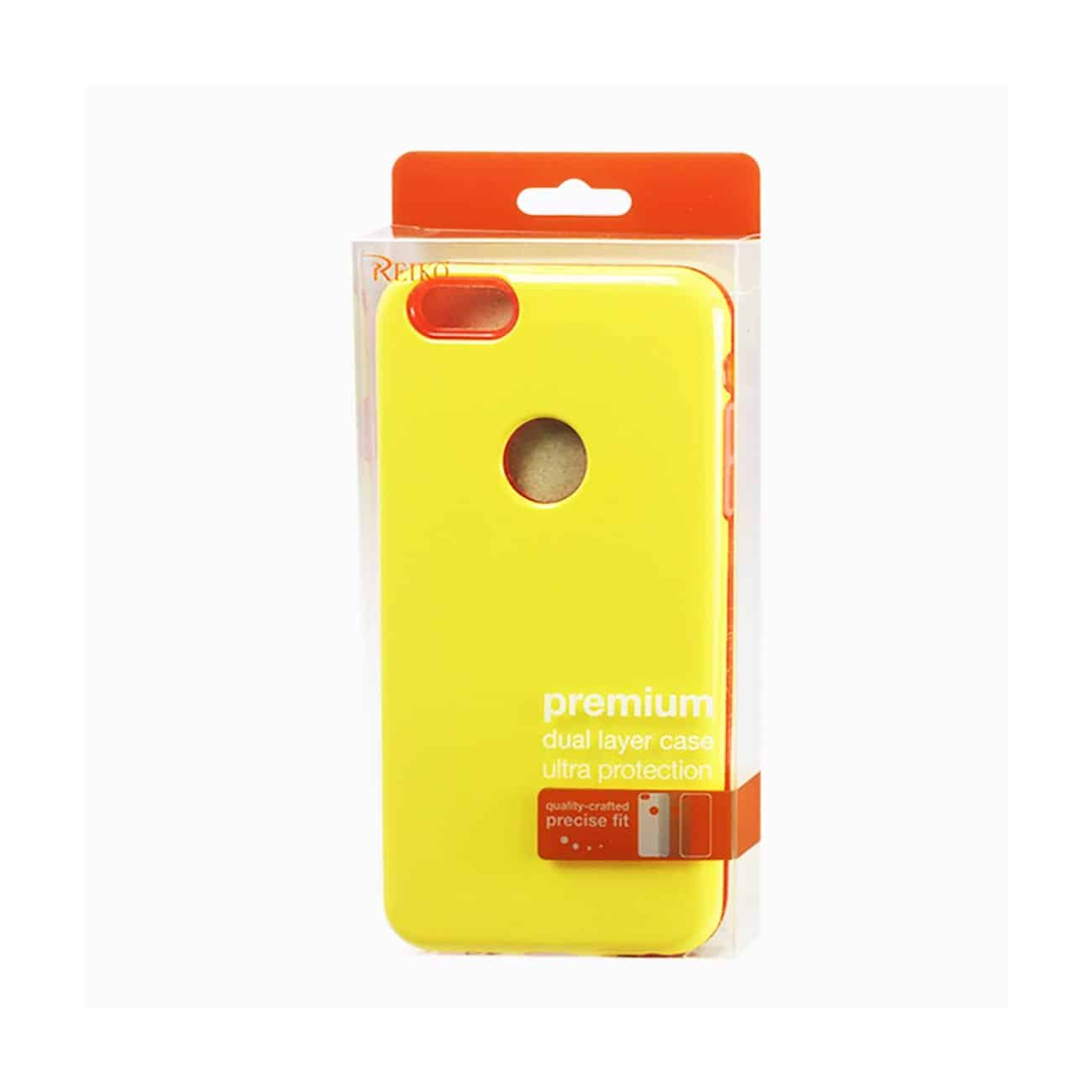 IPHONE 6 PLUS SLIM ARMOR CANDY SHIELD CASE IN YELLOW