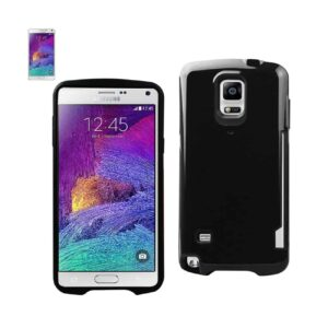 SAMSUNG GALAXY NOTE 4 CANDY SHIELD CASE WITH CARD HOLDER IN BLACK