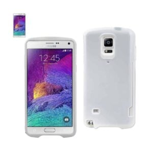 SAMSUNG GALAXY NOTE 4 CANDY SHIELD CASE WITH CARD HOLDER IN WHITE