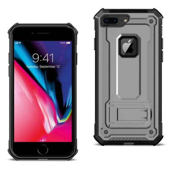 APPLE IPHONE 8 PLUS Case With Kickstand In Gray