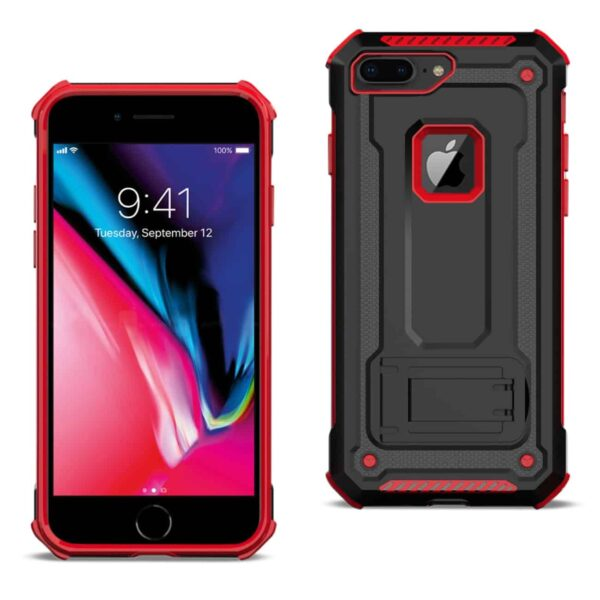 APPLE IPHONE 8 PLUS Case With Kickstand In Red