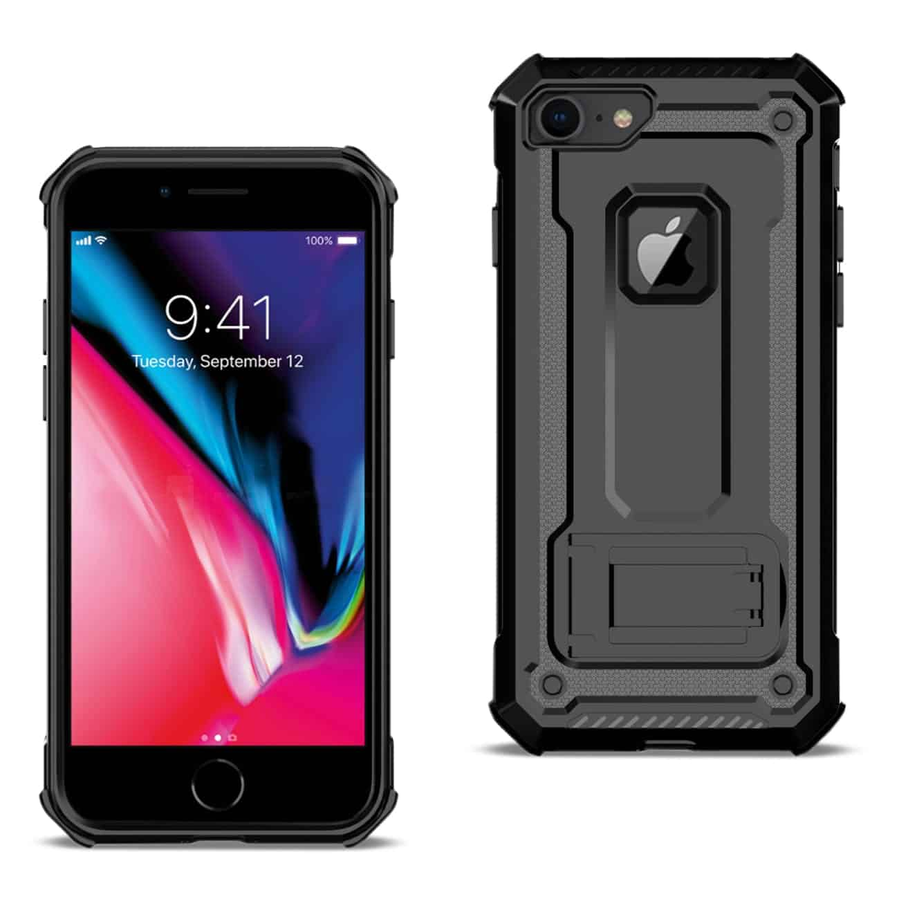 APPLE IPHONE 8 Case With Kickstand In Black