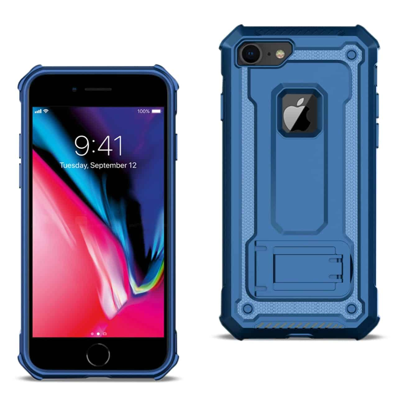 APPLE IPHONE 8 Case With Kickstand In Blue