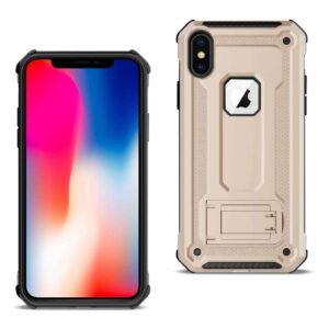 APPLE IPHONE XS Case With Kickstand In Gold