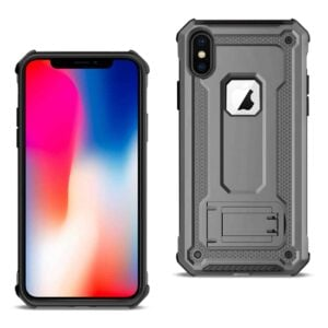 APPLE IPHONE XS Case With Kickstand In Gray