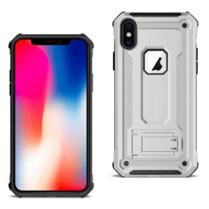 APPLE IPHONE XS Case With Kickstand In Silver
