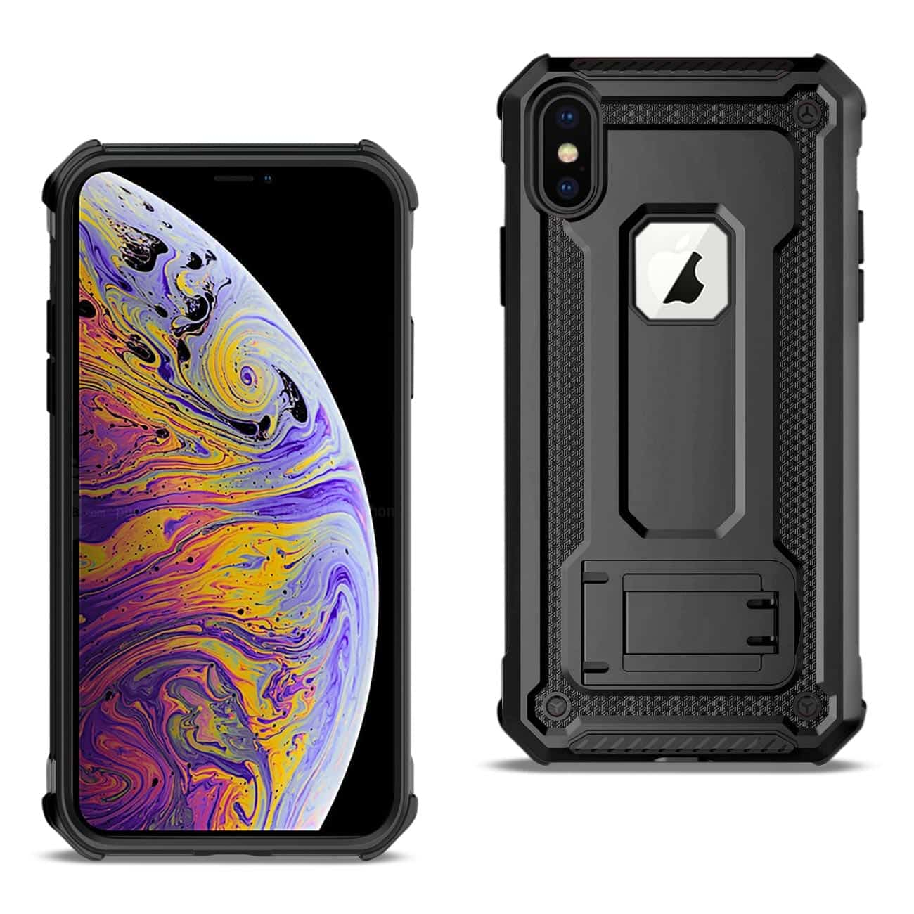 APPLE IPHONE XS MAX Case With Kickstand In Black