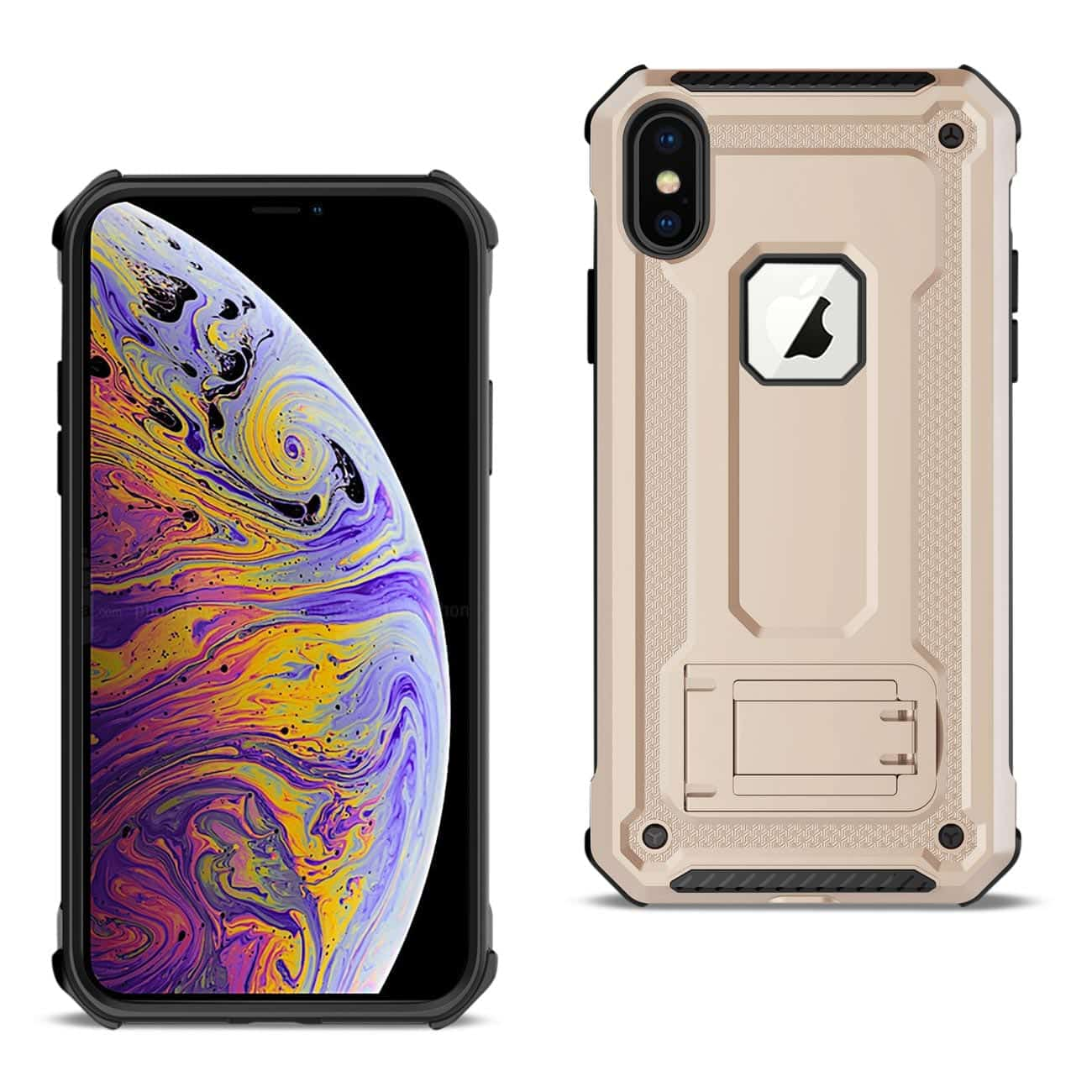 APPLE IPHONE XS MAX Case With Kickstand In Gold