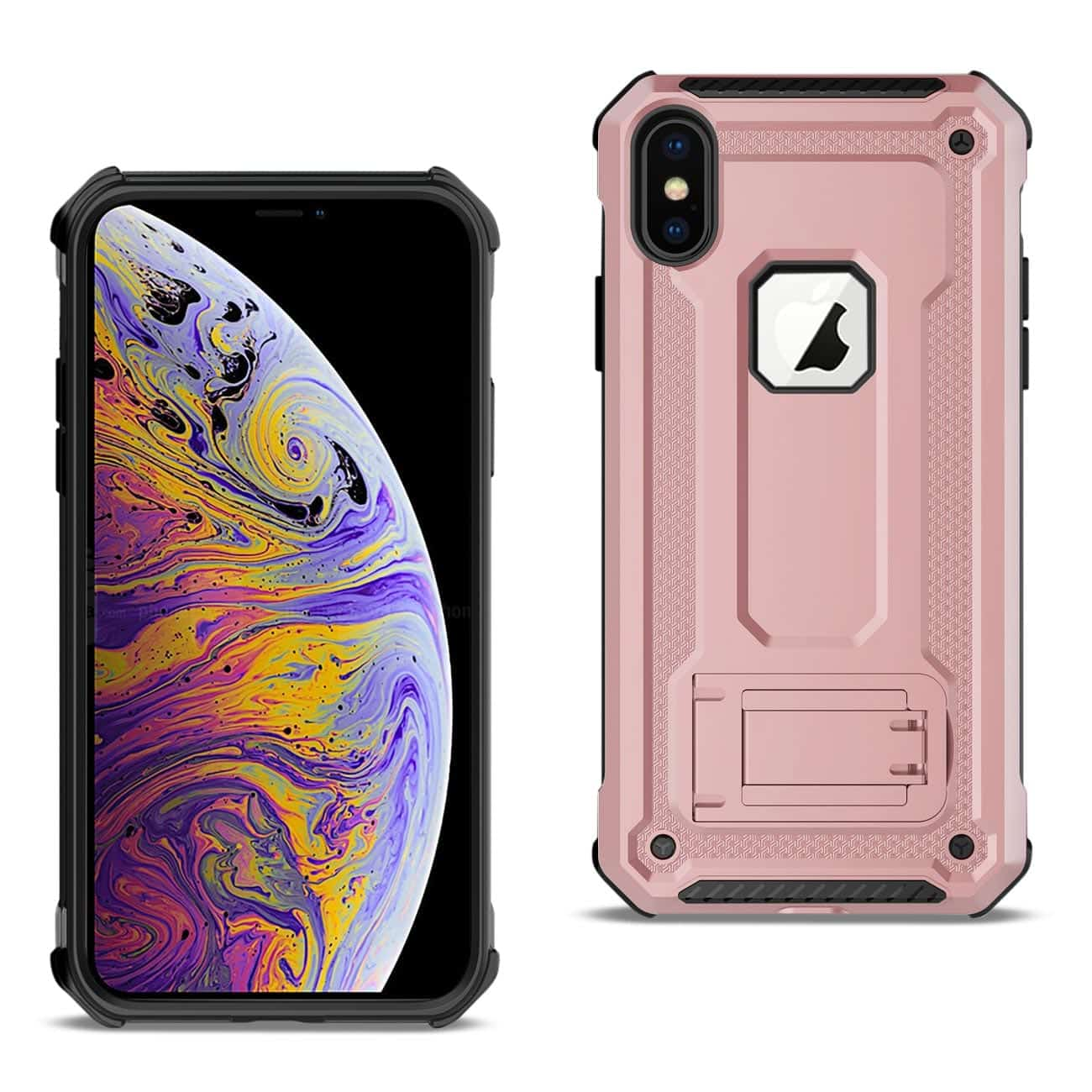 APPLE IPHONE XS MAX Case With Kickstand In Rose Gold