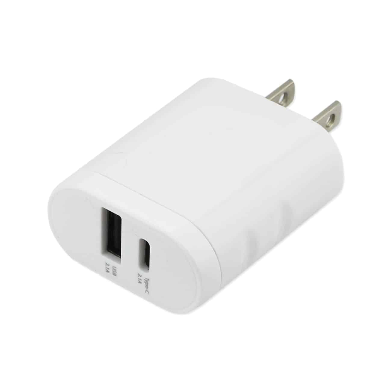 TYPE C 4 AMP HOME TRAVEL CHARGING STATION IN WHITE