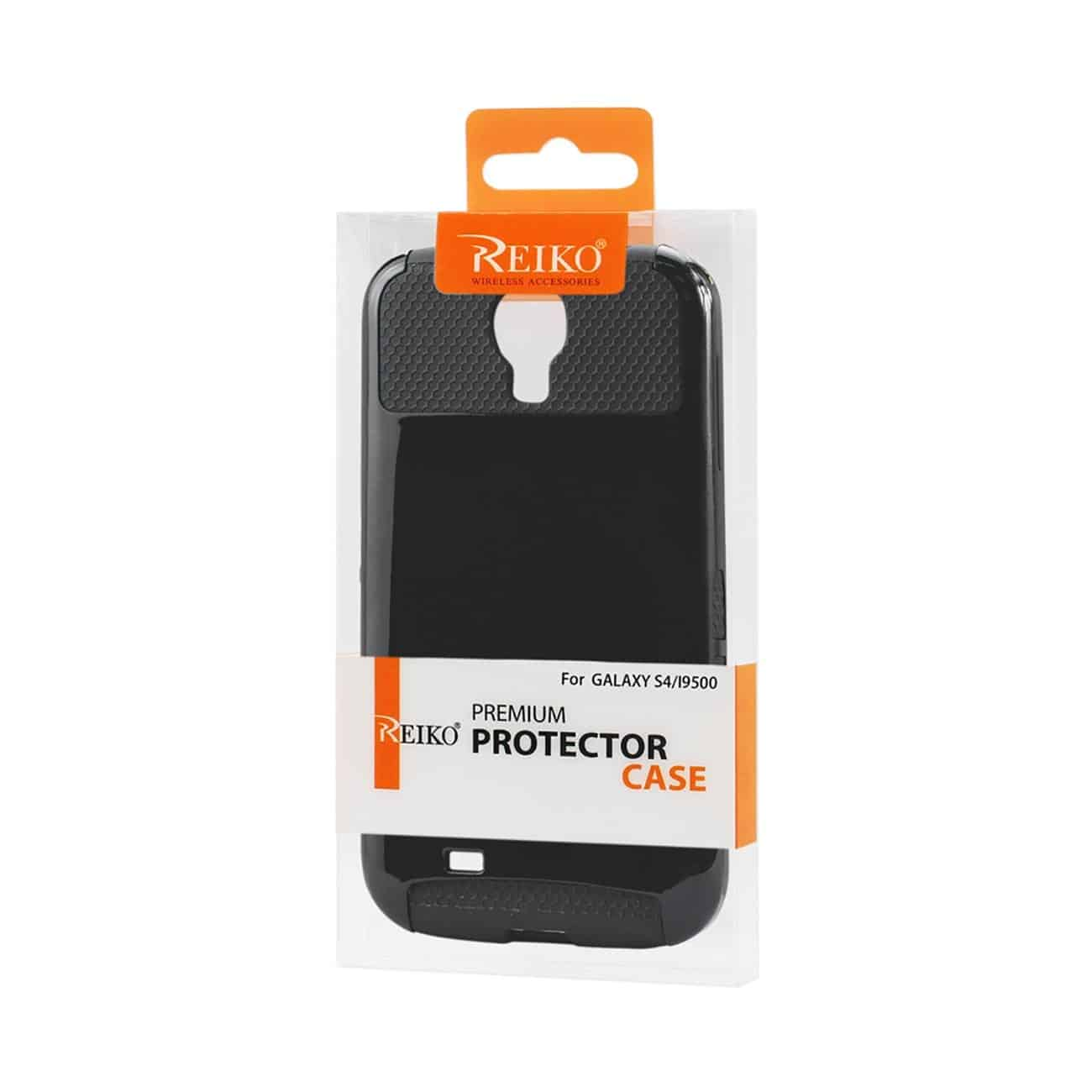 SAMSUNG GALAXY S4 CASE WITH CHIP AND CARD HOLDER IN BLACK