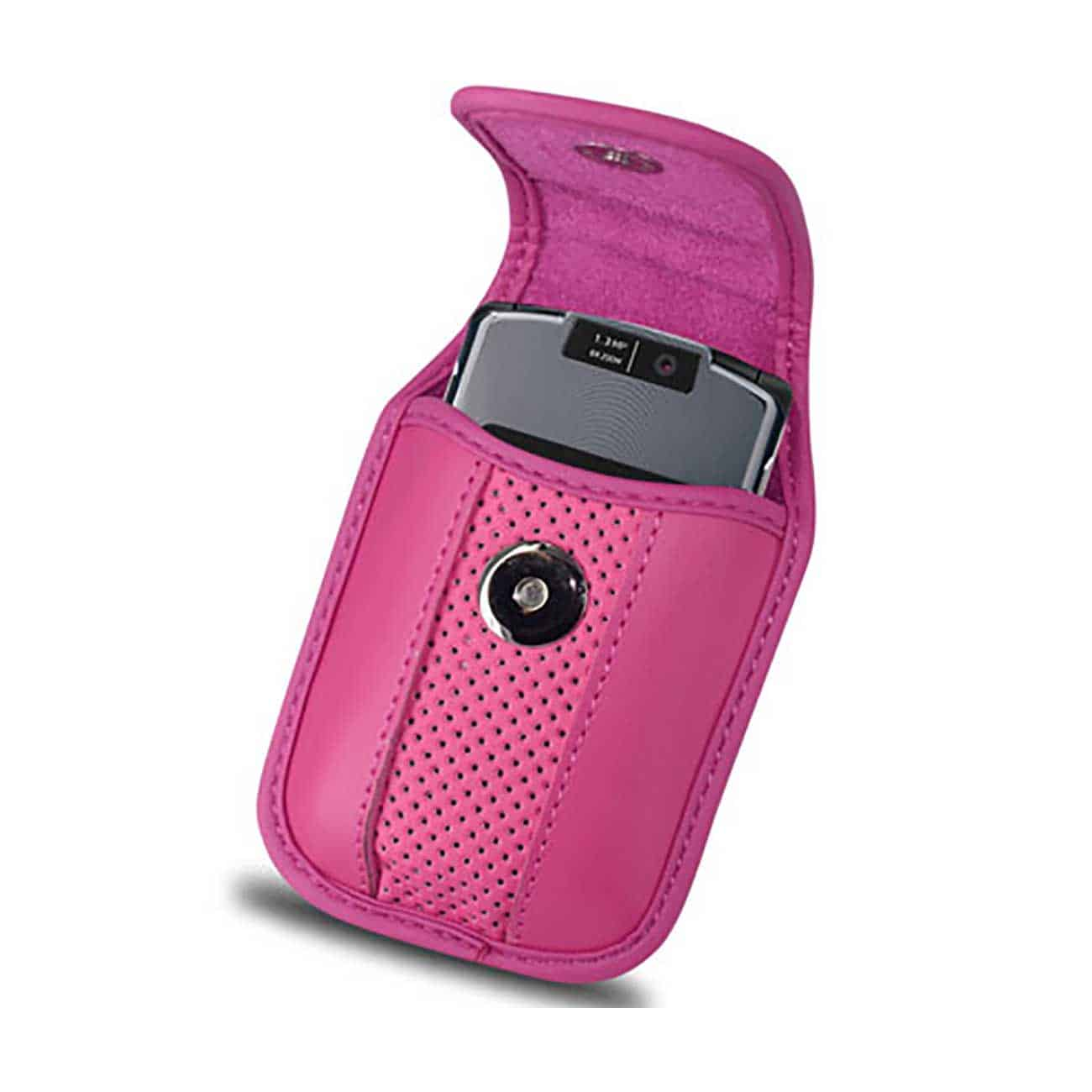VERTICAL POUCH VP11A BLACKBERRY 8330 HOT PINK 4.3X2.4X0.6 INCHES