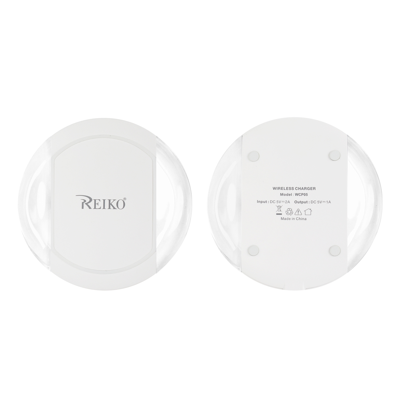 MINI WIRELESS CHARGING PAD IN WHITE