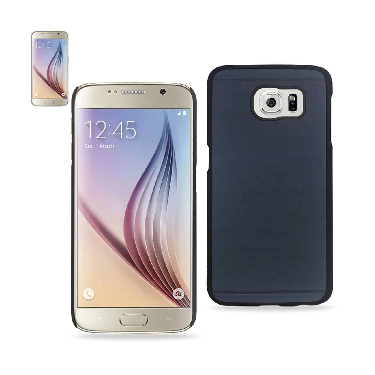 SAMSUNG GALAXY S6 WOOD PATTERN CASE IN NAVY
