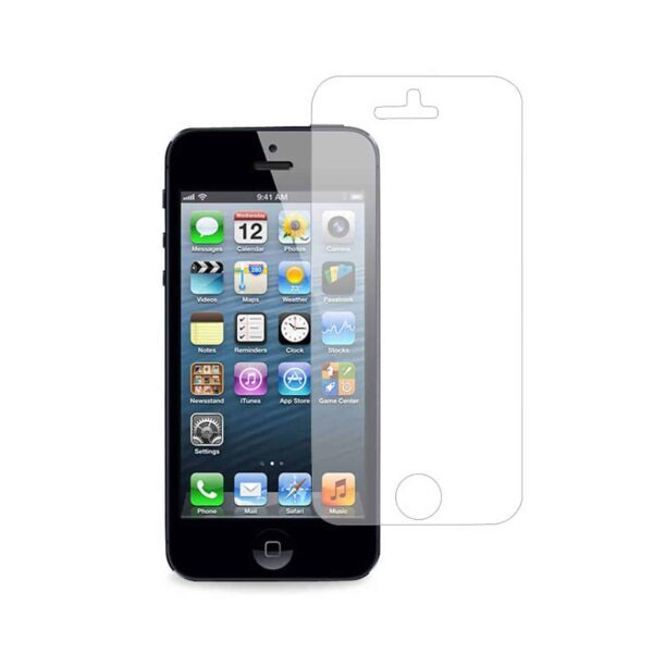 IPHONE SE/ 5S/ 5 TWO PIECES CLEAR SCREEN PROTECTOR IN CLEAR