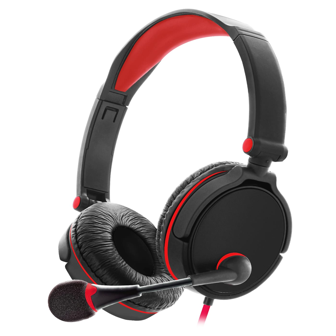 Sentry Industries GX50: Gaming Headset In Red
