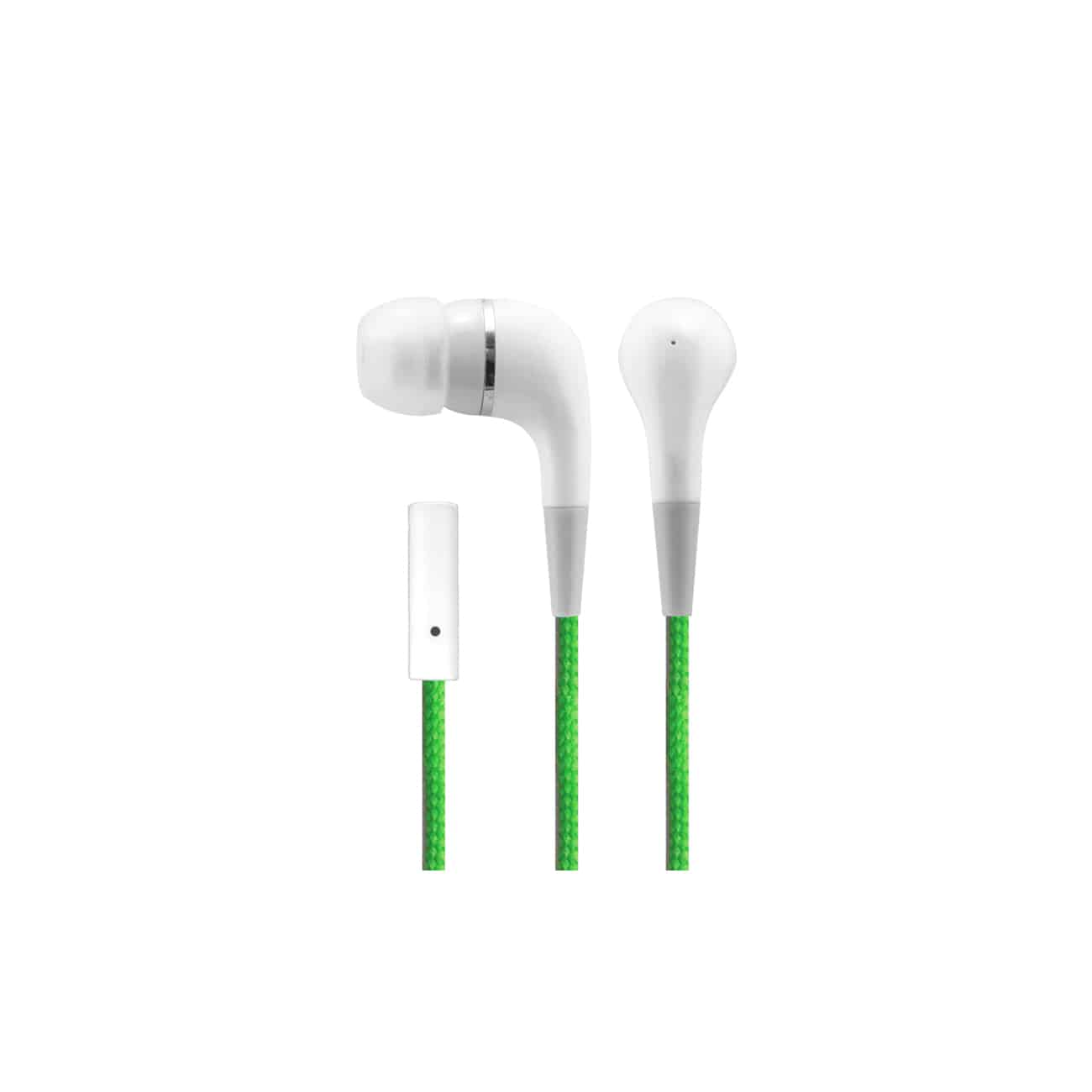 Sentry Industries HM226: Pure Plus Deluxe Stereo Buds with Mic In Green
