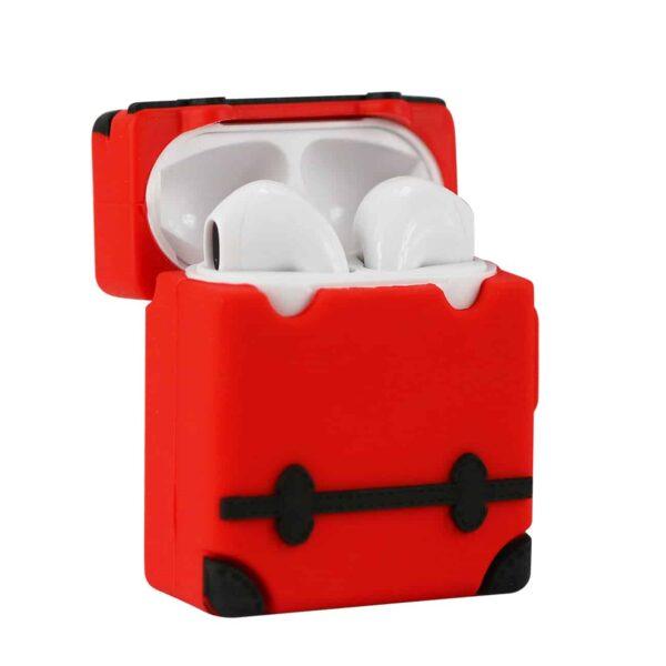 ISTIK Design Case For Airpods In Red