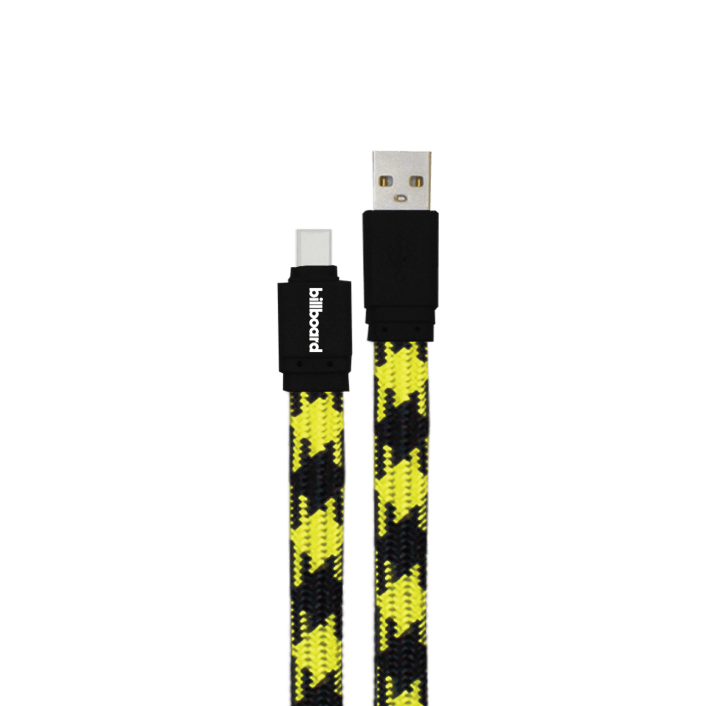 Billboard 6' USB-C to USB-A Sync & Charge Cable Yellow