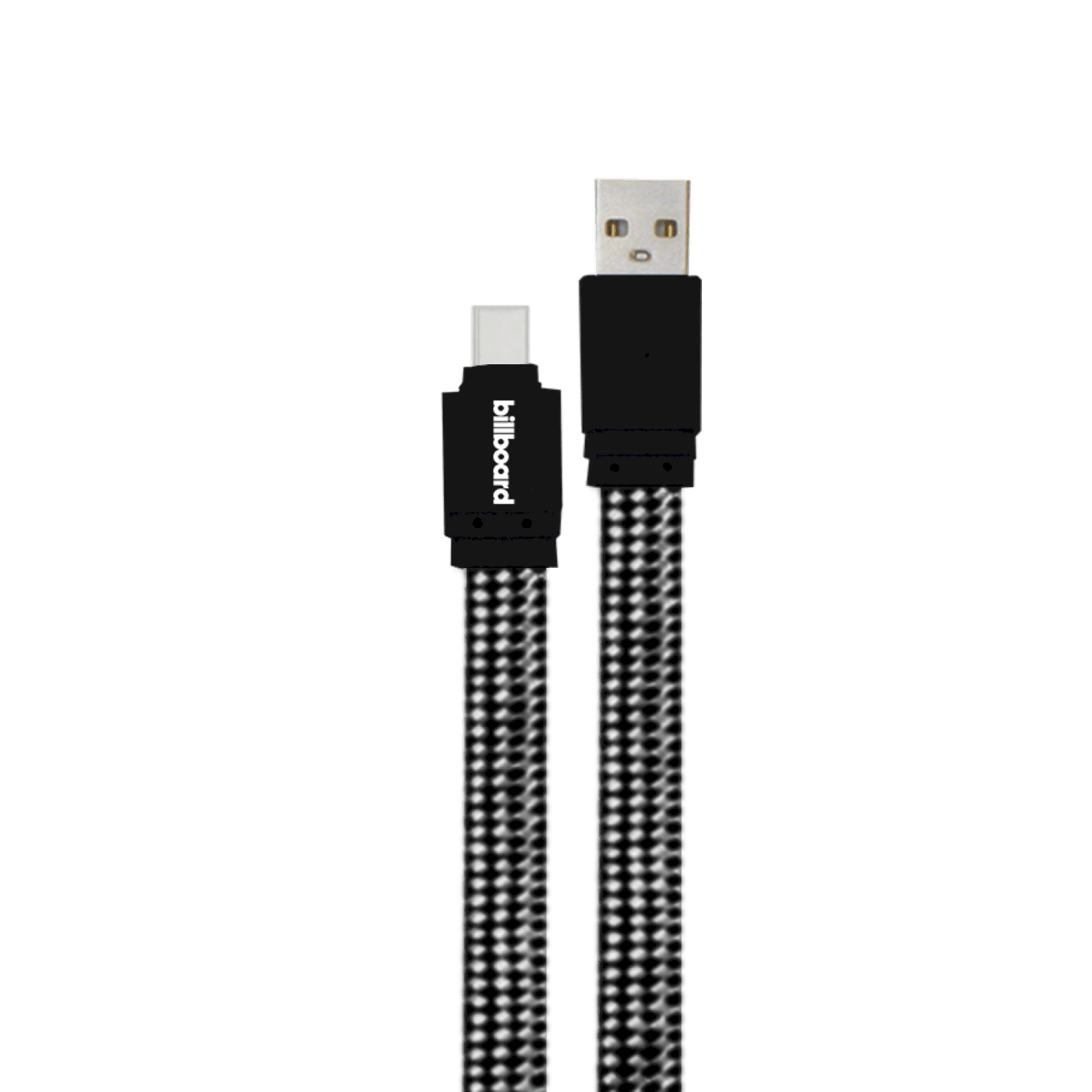 Billboard 6' USB-C to USB-A Sync & Charge Cable Black