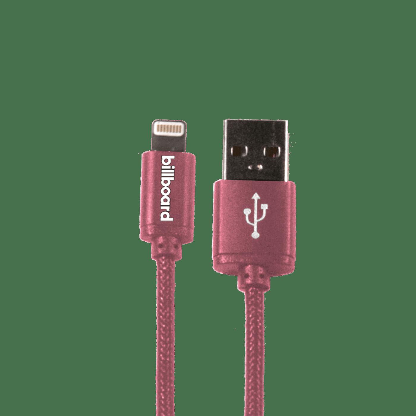 Billboard 6ft LIGHTNING  USB Cable ROSE GOLD