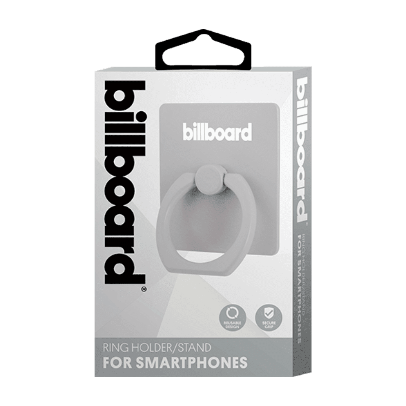 Billboard Smartphones Ring Holder/ Stand Gray
