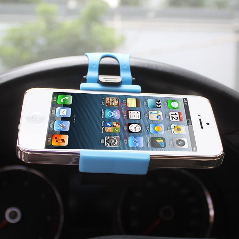 ISTIK PHONE SOCKET HOLDER IN BLUE