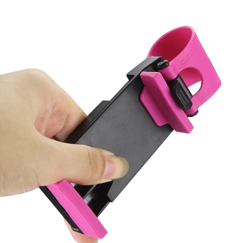 ISTIK PHONE SOCKET HOLDER IN HOT PINK