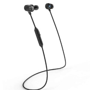 Wireless Sport Earphones with Magnetic Controlled Switch In Black