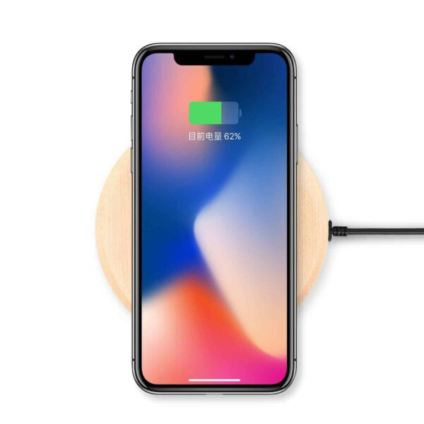 Real Ultra Slim Qi Wireless Charging Pad For iPhone X/ 8/ 8 Plus, Lg V30, Samsung S9/ S9Plus/ S8/ S8 Plus/ S7/ S6/ S6 Edge, Google Nexus 7/ 6/ 5/ 4, Nokia Lumia 930, And More Qi-Enabled Devices