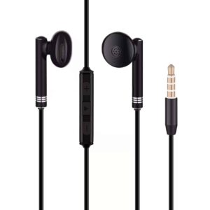 High Quality Sound Stereo Universal In-ear Earphones In Black